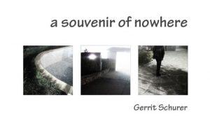 a souvenir of nowhere